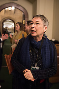ANN COFFEY, MP, Ann Coffey MP hosts a reception and panel debate  on behalf of Harry's Grooming to launch the Masculinity Report. Houses of Parliament. 16 November 2017.
