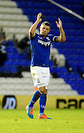 Paul Robinson applauds the crowd during the Sky Bet Championship match between Birmingham City and Reading at St Andrews, Birmingham, England on 13 December 2014.
