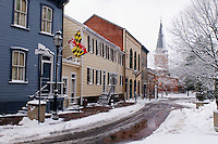 School Street, Annapolis, Maryland