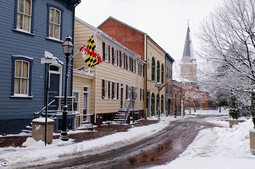 School Street, Annapolis, Maryland