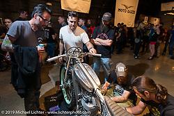 The Handbuilt Motorcycle Show. Austin, TX, . April 10, 2015.  Photography ©2015 Michael Lichter.