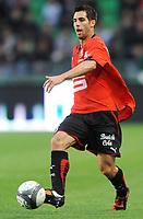 Fotball<br /> Frankrike<br /> Foto: DPPI/Digitalsport<br /> NORWAY ONLY<br /> <br /> FOOTBALL - FRENCH CHAMPIONSHIP 2009/2010 - L1 - STADE RENNAIS FC v US BOULOGNE  - 8/08/2009<br /> <br /> RENNES<br /> <br /> CARLOS BOCANEGRA (REN)