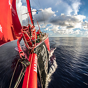Leg 4, Melbourne to Hong Kong, day 09 on board MAPFRE. Photo by Ugo Fonolla/Volvo Ocean Race. 10 January, 2018.