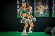 PDC Dancers during the Betway Premier League Darts Night Eight at Marshall Arena, Milton Keynes, United Kingdom on 21 April 2021