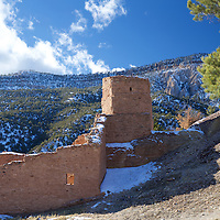 Dating back to 1621, this Spanish mission church/fortress was built right in the middle of the Giusewa village in the serene Jemez valley
