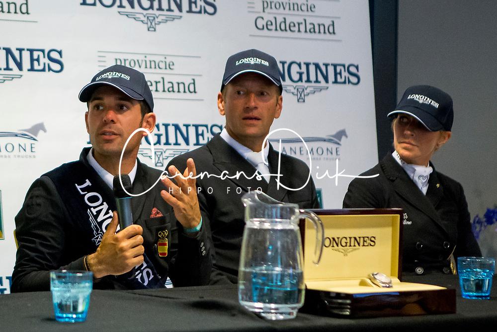 Jurado Lopez Severo, Christensen Jan Moller, Isabell Freese, <br /> WK Ermelo 2019<br /> © Hippo Foto - Sharon Vandeput<br /> 4/08/19
