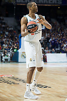 Real Madrid Anthony Randolph during Turkish Airlines Euroleague match between Real Madrid and CSKA Moscu at Wizink Center in Madrid, Spain. October 19, 2017. (ALTERPHOTOS/Borja B.Hojas)