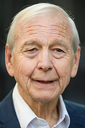 © Licensed to London News Pictures. 19/09/2019. London, UK. Veteran broadcaster JOHN HUMPHRYS is seen leaving BBC Broadcasting House in London following his final day on the BBC Radio 4 Today Programme. Photo credit: Ben Cawthra/LNP