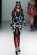 Maria Escote in Mercedes-Benz Fashion Week Madrid 2013