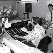 NLD/Naarden/19920715 - Radio Noorzee Nederland in de Hofstede Naarden met oa Edward Niessing