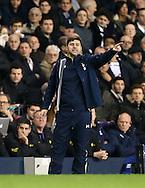 Tottenham's Mauricio Pochettino looks on <br /> <br /> Barclays Premier League- Tottenham Hotspur vs Everton - White Hart Lane - England - 30th November 2014 - Picture David Klein/Sportimage