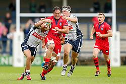 - Photo mandatory by-line: Rogan Thomson/JMP - 07966 386802 - 14/09/2014 - SPORT - RUGBY UNION - Leeds, England - Headingley Carnegie Stadium - Yorkshire Carnegie v Bristol Rugby - Greene King IPA Championship.
