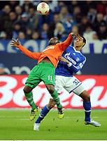 v.l. Gerald Asamoah, Joel Matip (Schalke)<br /> Fussball Bundesliga, FC Schalke 04 - SpVgg Greuther Fuerth<br /> <br /> Norway only