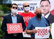 Wiec poparcia dla Andrzeja Dudy w Sokolce