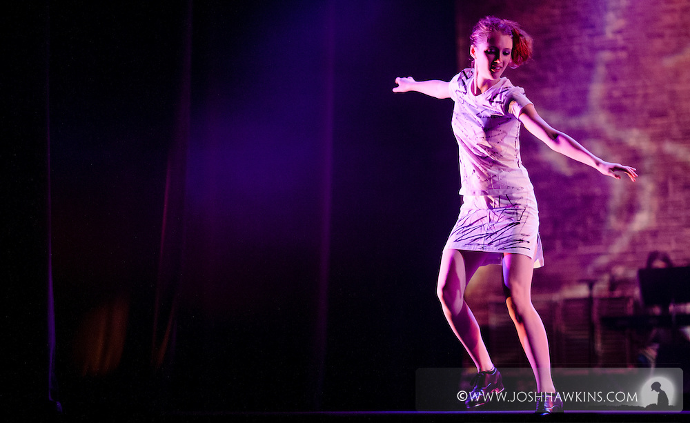 """Chicago Tap Theatre's production of Totally Tapular at the Athenaeum Theater in Chicago....""""Take on Me"""".Dancers: Sam Nolte.Choreography by: Mark Yonally"""