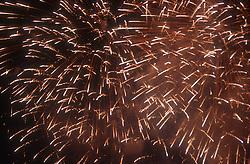 Fireworks at Spring Fair; Seville,