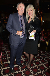 NICK MASON and NETTE MASON at the Pig Pledge Evening at Club no41, 41 Conduit Street, London on 10th March 2014.