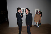 JUSTIN COOMBES; NICK HACKWORTH, Exposed: Voyeurism, Surveillance and the Camera<br /> Tate Modern, London. OPENING AND DINNER.- 26 MAY 2010.  -DO NOT ARCHIVE-© Copyright Photograph by Dafydd Jones. 248 Clapham Rd. London SW9 0PZ. Tel 0207 820 0771. www.dafjones.com.
