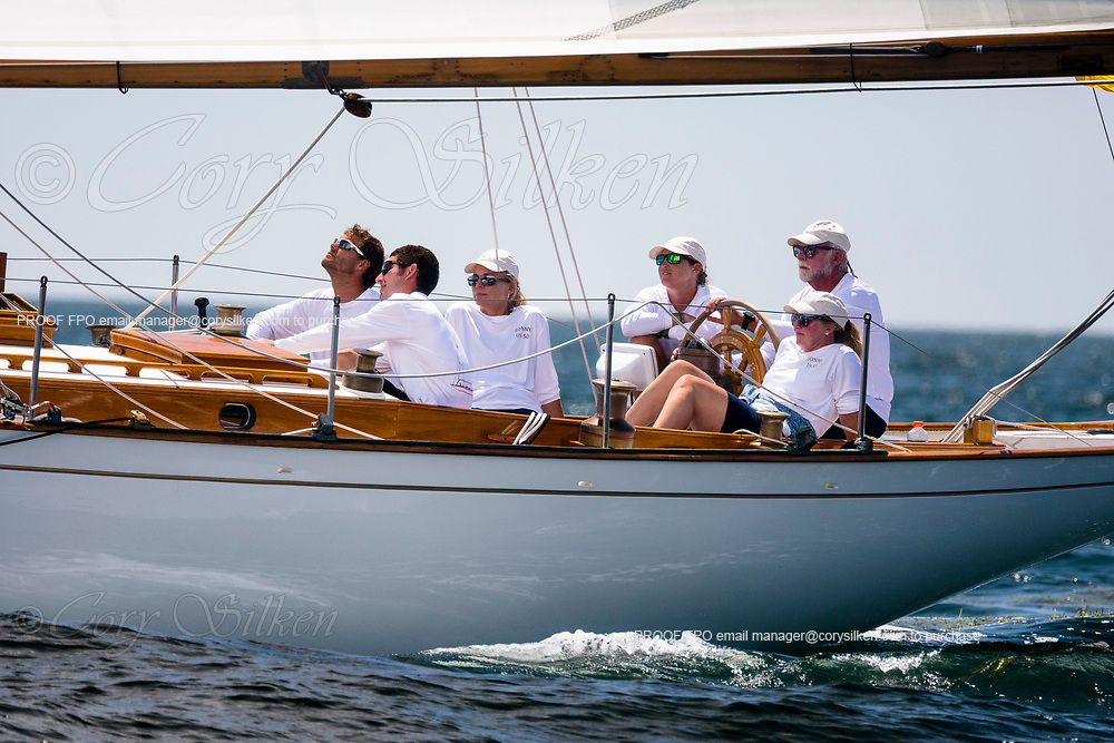 Sonny sailing in the Opera House Cup.