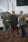 KARL SLATTER; BEN ORGAN; LIAM PERRY, The Heythrop Hunt Point to Point. Cocklebarrow. 24 January 2016