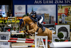 STAIS Alexa (RSA), Quintato<br /> Grand Prix von Volkswagen<br /> Int. jumping competition over two rounds (1.55 m) - CSI3*<br /> Comp. counts for the LONGINES Rankings<br /> Braunschweig - Classico 2020<br /> 08. März 2020<br /> © www.sportfotos-lafrentz.de/Stefan Lafrentz