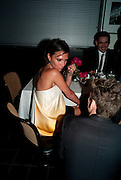 VICTORIA BECKHAM; CHRISTOPHER BAILEY, Dinner hosted by editor of British Vogue, Alexandra Shulman in association with Net-A-Porter.com in honour of 25 years of London Fashion Week and Nick Knight. Caprice. London.  September 21, 2009