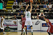 DESCRIZIONE : Avellino Lega A 2015-16 Sidigas Avellino EA7 Emporio Armani Milano<br /> GIOCATORE : Janis Blums<br /> CATEGORIA : tiro controcampo<br /> SQUADRA : Sidigas Avellino<br /> EVENTO : Campionato Lega A 2015-2016<br /> GARA : Sidigas Avellino EA7 Emporio Armani Milano<br /> DATA : 19/10/2015<br /> SPORT : Pallacanestro <br /> AUTORE : Agenzia Ciamillo-Castoria/GiulioCiamillo<br /> Galleria : Lega Basket A 2015-2016<br /> Fotonotizia : Roma Lega A 2015-16 Sidigas Avellino EA7 Emporio Armani Milano