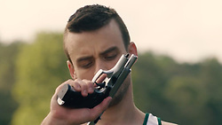 "October 3, 2017 - inconnu - Here is a first look at a movie about Paralympic Games champion Oscar Pistorius and the murder of his girlfriend Reeva Steenkamp.A 60 second trailer shows the athlete shooting his girlfriend through the bathroom door of his home .It also features their violent arguments before her death.Oscar Pistorius: Blade Runner Killer charts the run-up to the murder on Valentine's Day 2013 at his home in Pretoria, South Africa and the courtroom dramas that followed.South African-born actor Andreas Damm as the 30-year-old double-leg amputee and German Victoria's Secret model and actress Toni Garrn ,25, as Steenkamp.The promo shows the athlete holding a pistol and shouting ""get out of my house"" before firing the weapon twice.In another scene, Pistorius tells his girlfriend she will be his ""personal angel"" as he trains for the Olympics. In another, he challenges Steenkamp to prove that she is worthy of him before she strips to her underwear and climbs into bed with him.The following scene shows the pair having a row before he picks up a weapon,The trailer ends with Pistorius tearfully telling the court at his subsequent trial: ""I truly loved her"".The film will premiere in the US on November 11. The trailer is released just days after it was announced that the South African Supreme Court of Appeal will hear the state's appeal against the gold medallist runner's murder sentence.Pistorius was jailed for six years in 2016 for murdering Steenkamp. At the time, the length of his sentence described as lenient by many commentators in the country.The appeal will be heard on November 3. # FILM 'OSCAR PISTORIUS: BLADE RUNNER KILLER' AVEC TONI GARN (Credit Image: © Visual via ZUMA Press)"