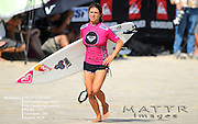 Gold Coast, Australia - March 5: Sofia Mulanovich makes her way to the line up during the quarter finals of the Roxy Pro Gold Coast 2010 at Snapper Rocks on the Gold Coast, March 5, 2010 Photo by Matt Roberts/MATTRimages.com.au | Image ID: MTR_0124.jpg