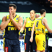#65 Filip Stanic von Baskets Oldenburg <br /> Basketball, nph0001 1.Bundesliga BBL-Finalturnier 2020.<br /> Halbfinale Spiel 2 am 24.06.2020.<br /> <br /> Alba Berlin vs EWE Baskets Oldenburg <br /> Audi Dome<br /> <br /> Foto: Christina Pahnke / sampics  / POOL / nordphoto<br /> <br /> National and international News-Agencies OUT - Editorial Use ONLY
