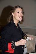 SUSAN BOYD, party to celebrate the 100th issue of Granta magazine ( guest edited by William Boyd.) hosted by Sigrid Rausing and Eric Abraham. Twentieth Century Theatre. Westbourne Gro. London.W11  15 January 2008. -DO NOT ARCHIVE-© Copyright Photograph by Dafydd Jones. 248 Clapham Rd. London SW9 0PZ. Tel 0207 820 0771. www.dafjones.com.