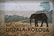Vehicle logo<br /> Odzala - Kokoua National Park<br /> Republic of Congo (Congo - Brazzaville)<br /> AFRICA