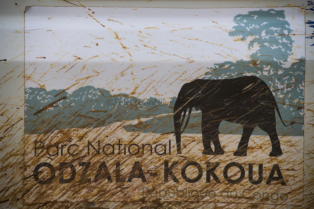 Vehicle logo<br /> Odzala - Kokoua National Park<br /> Republic of Congo (Congo - Brazzaville)<br /> AFRICA