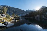 Upper Gem Lake, John Muir Wilderness, Inyo National Forest, California