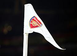 November 29, 2017 - London, England, United Kingdom - Arsenal corner flag..during Premier League match between Arsenal and Huddersfield Town at Emirates Stadium, London,  England on 29 Nov   2017. (Credit Image: © Kieran Galvin/NurPhoto via ZUMA Press)