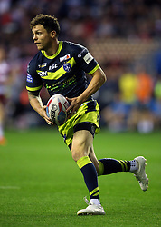 Wakefield Trinity's Scott Grix during the Betfred Super League Super 8's match at the DW Stadium, Wigan. PRESS ASSOCIATION Photo. Picture date: Thursday September 6, 2018. See PA story RUGBYL Wigan. Photo credit should read: Nigel French/PA Wire. RESTRICTIONS: Editorial use only. No commercial use. No false commercial association. No video emulation. No manipulation of images.