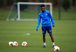 Everton's Beni Baningime during the training session at Finch Farm, Liverpool. PRESS ASSOCIATION Photo. Picture date: Wednesday November 22, 2017. See PA story SOCCER Everton. Photo credit should read: Peter Byrne/PA Wireduring the training session at Finch Farm, Liverpool. PRESS ASSOCIATION Photo. Picture date: Wednesday November 22, 2017. See PA story SOCCER Everton. Photo credit should read: Peter Byrne/PA Wire