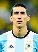Conmebol - World Cup Fifa Russia 2018 Qualifier / <br /> Argentina National Team - Preview Set - <br /> Angel Fabian Di Maria Hernandez