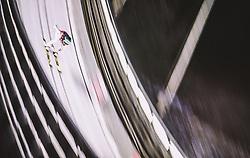 11.01.2019, Stadio del Salto, Predazzo, ITA, FIS Weltcup Skisprung, Val di Fiemme, Herren, Training, im Bild Michael Hayboeck (AUT) // Michael Hayboeck of Austria during the training jump of men's FIS Skijumping World Cup at the Stadio del Salto in Predazzo, Itali on 2019/01/11. EXPA Pictures © 2019, PhotoCredit: EXPA/ JFK
