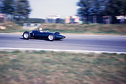Formula One Italian Grand Prix, Monza 1961 identification unclear possibly Lotus Climax racing car of Jim Clark