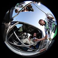 MOTORSPORT - WORLD RALLY CHAMPIONSHIP 2011 - RALLYE DE FRANCE / ALSACE  - STRASBOURG (FRA) - 29/09 TO 02/10/2011 - PHOTO : FRANCOIS BAUDIN / DPPI - OSTBERG MADS (NOR) - FORD FIESTA RS WRC - M-SPORT STOBART FORD WORLD RALLY TEAM - AMBIANCE PORTRAIT