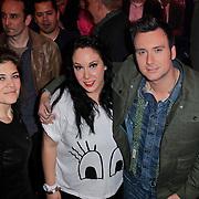 NLD/Hilversum/20120120 - Finale the Voice of Holland 2012, lisa Lois en broer Chris Hordwijk