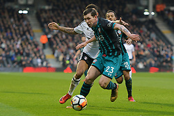 January 6, 2018 - Fulham, England, United Kingdom - Southampton's Pierre-Emile Hjbjerg during the FA Cup 3rd Round match between Fulham against Southampton  at Craven Cottage Stadium, London England on 06 Jan 2018. (Credit Image: © Kieran Galvin/NurPhoto via ZUMA Press)