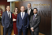 SHOT 1/8/19 12:19:50 PM - Bachus & Schanker LLC lawyers James Olsen, Maaren Johnson, J. Kyle Bachus, Darin Schanker and Andrew Quisenberry in their downtown Denver, Co. offices. The law firm specializes in car accidents, personal injury cases, consumer rights, class action suits and much more. (Photo by Marc Piscotty / © 2018)