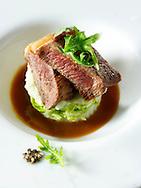 Sirloin steak & salad