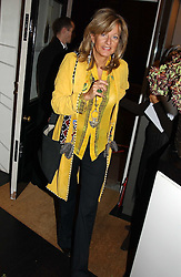 PRINCESS CHANTAL OF HANOVER at a jewellery party hosted by Osanna Visconti and Pia Marocco at Allegra Hick's shop, 28 Cadogan Place, London on 25th November 2004.<br />