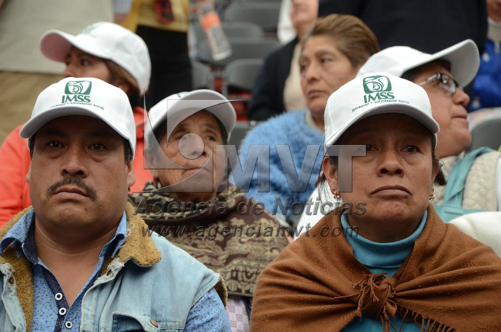 Metepec, México (Octubre 20, 2016).- Mike Arriola Peñalosa Director General del IMSS durante el Encuentro Médico Quirúrgico de Cirugía Pediátrica.  Agencia MVT / José Hernández.