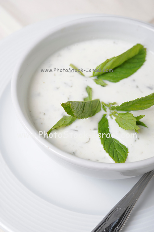 Tzatziki dip (Greek yoghurt, cucumber, mint and garlic)