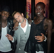 EXCLUSIVE: Provocateur Lounge Closing Party.<br /><br />Pictured: Francois Alexander, David Arquette and Grace Bol<br />Ref: SPL585256  270713   EXCLUSIVE<br />Picture by: CelebrityVibe / Splash News<br /><br />Splash News and Pictures<br />Los Angeles:310-821-2666<br />New York:212-619-2666<br />London:870-934-2666<br />photodesk@splashnews.com