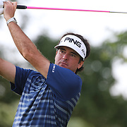 Bubba Watson in action during the first round of theThe Barclays Golf Tournament at The Ridgewood Country Club, Paramus, New Jersey, USA. 21st August 2014. Photo Tim Clayton